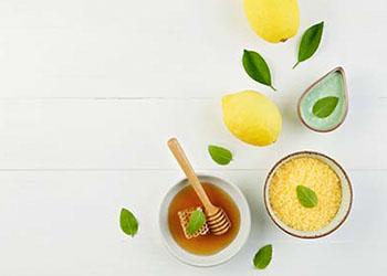Recette masque visage miel et citron